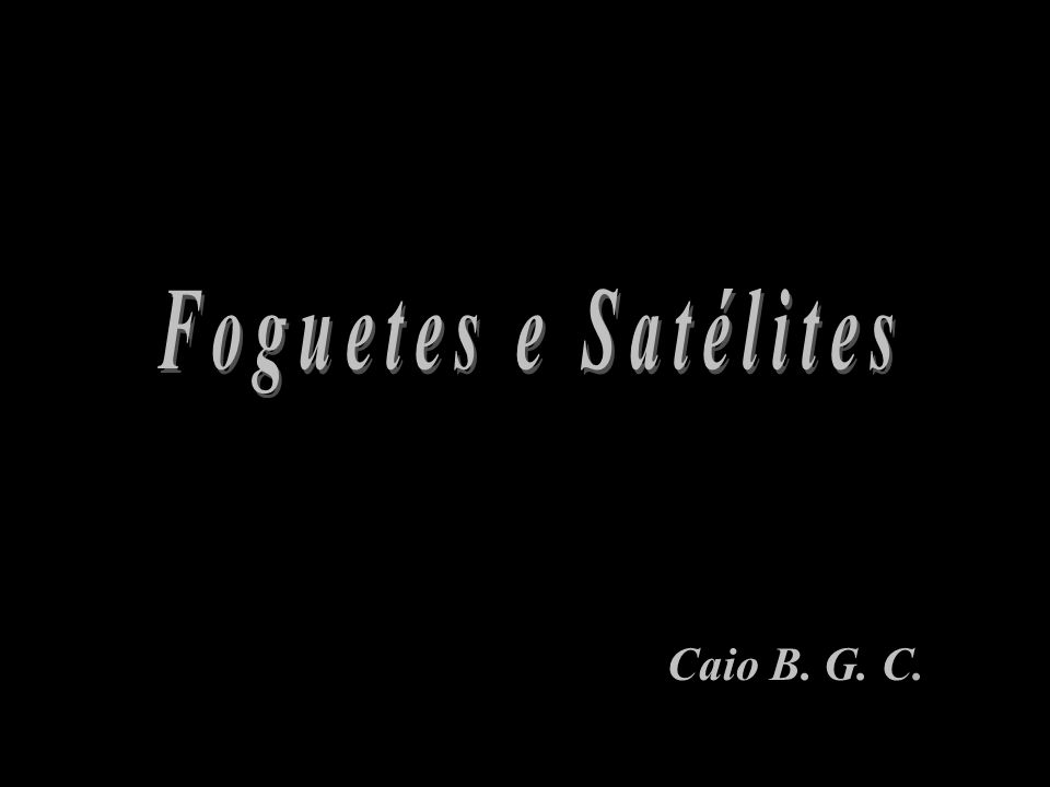 Caio B. G. C.