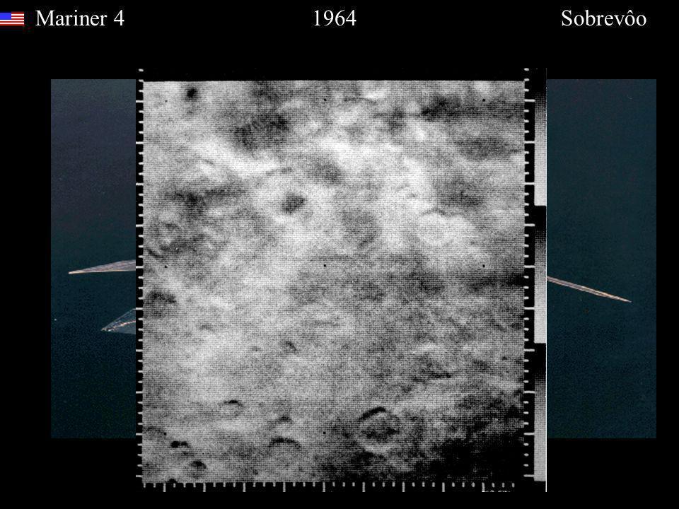 Mariner 4 1964 Sobrevôo