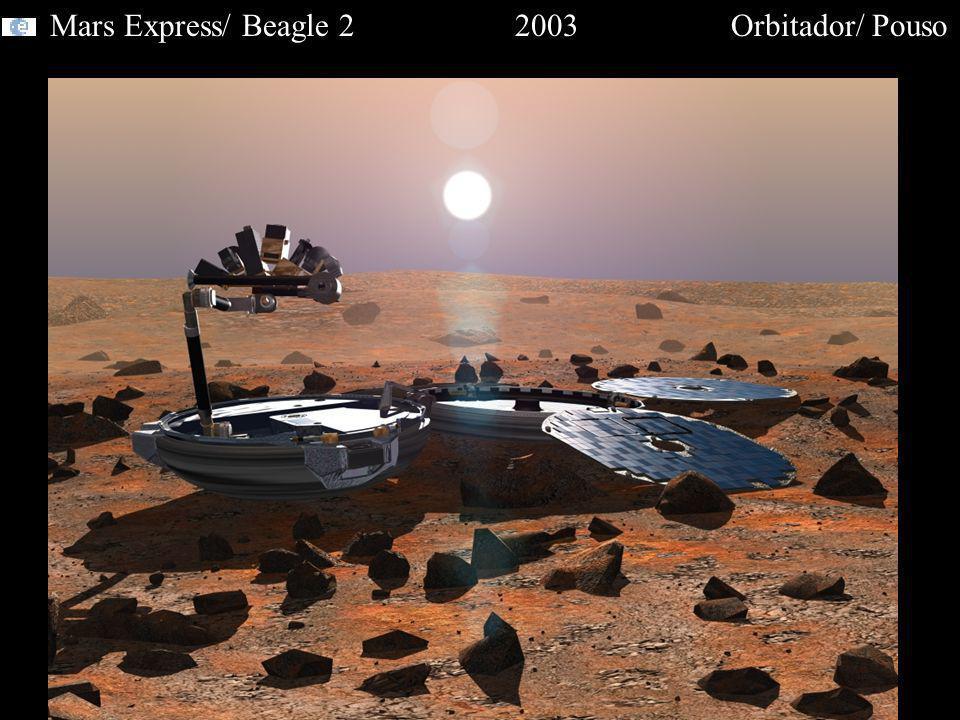 Mars Express/ Beagle 2 2003 Orbitador/ Pouso