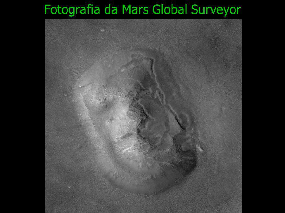 Fotografia da Mars Global Surveyor