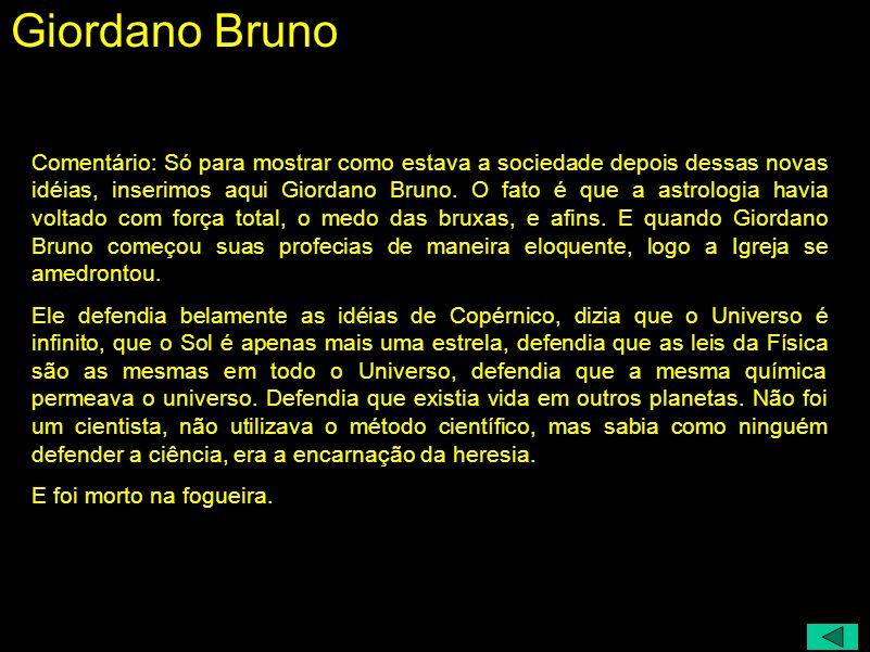Giordano Bruno (1548 - 1600)