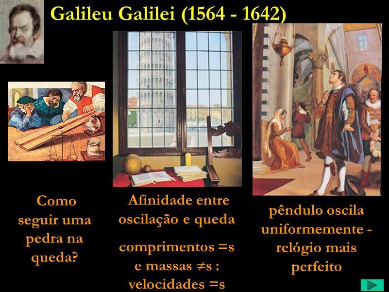 Galileu Comentário: Tenta, então, provar o heliocentrismo. Escreve um livro tido por muitos como um dos mais didáticos de toda aquela época. Um livro