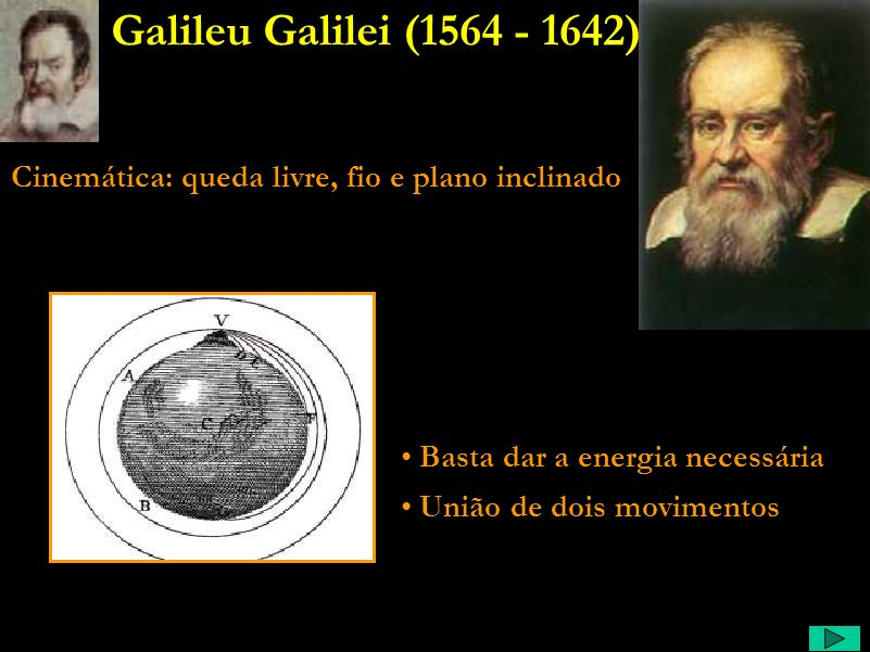 Galileu Comentário: Certa vez, quando colocaram um lustre novo na Torre de Pisa, ele, ao observar as oscilações desse lustre percebeu que elas se dava