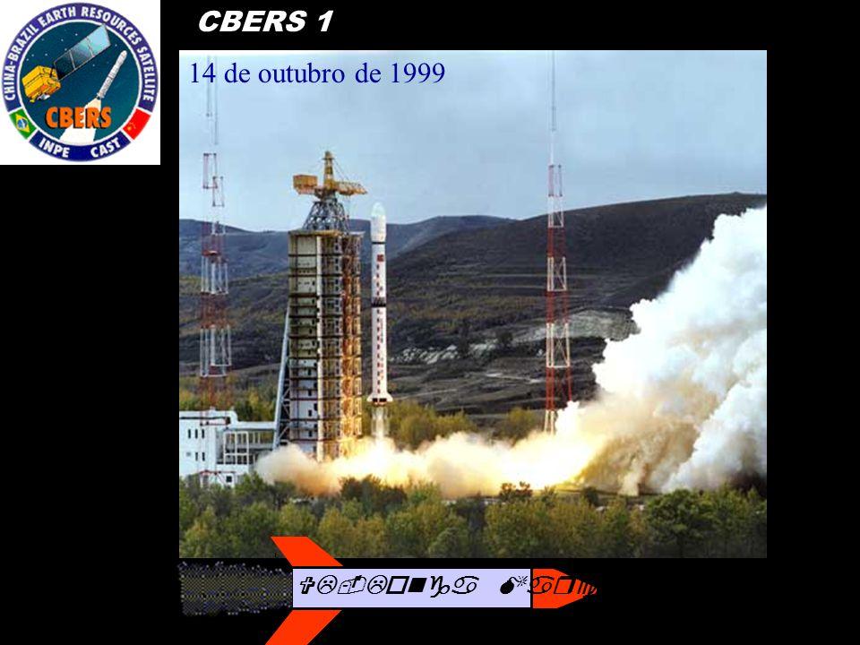 14 de outubro de 1999 CBERS 1 VL-Longa Marcha 4B