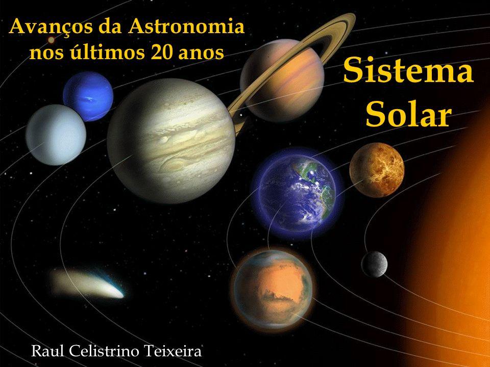 Dinâmica dos anéis dos planetas gasosos Desde 1985, sabemos que os 4 planetas gasosos têm anéis, mas pouco se sabia sobre a origem, ou a estabilidade destes Telescópio espacial Hubble/ Cassini/ Galileo trouxeram novas informações sobre os anéis desses planetas nos últimos anos