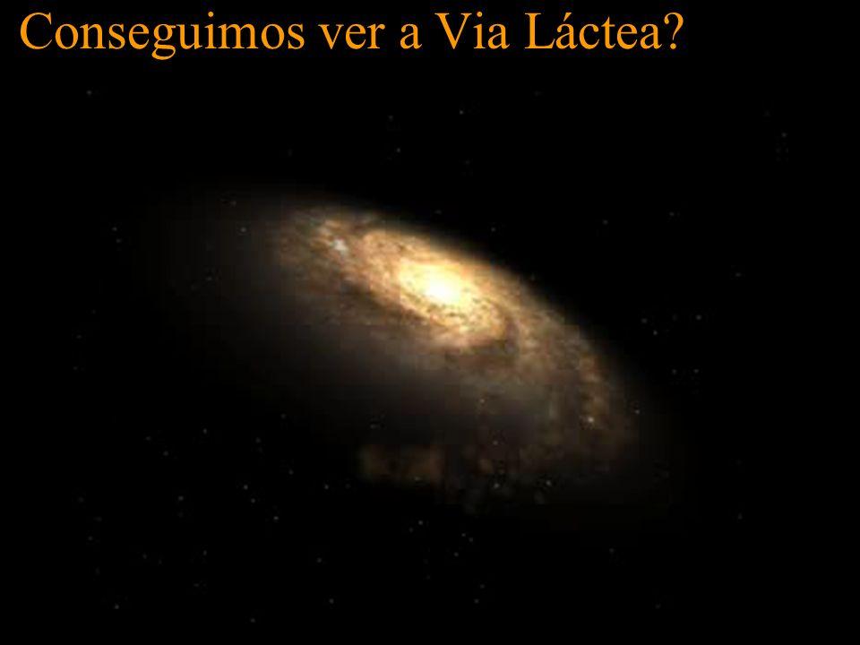 Conseguimos ver a Via Láctea?