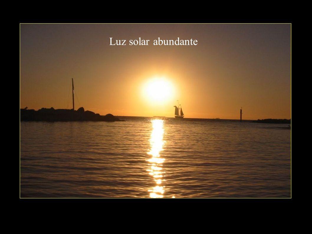 Luz solar abundante