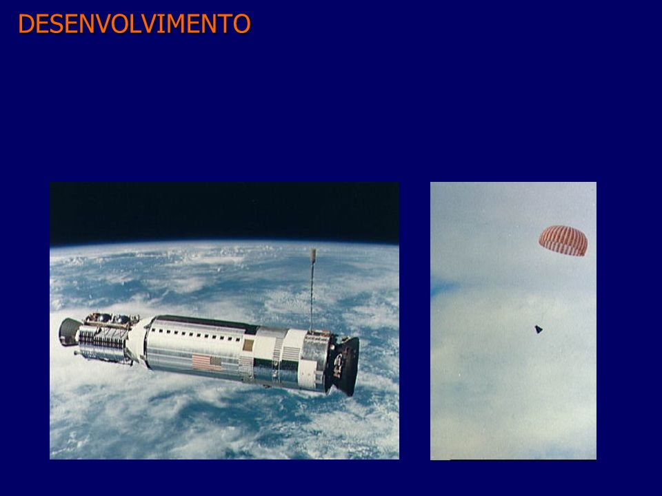 Apollo n A resposta ao desafio de Kennedy n Objetivos –Desenvolver tecnologia –Explorar a Lua –Dar aos EUA a supremacia da exploração espacial.