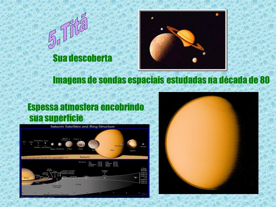 Sua descoberta Imagens de sondas espaciais estudadas na década de 80 Espessa atmosfera encobrindo sua superfície