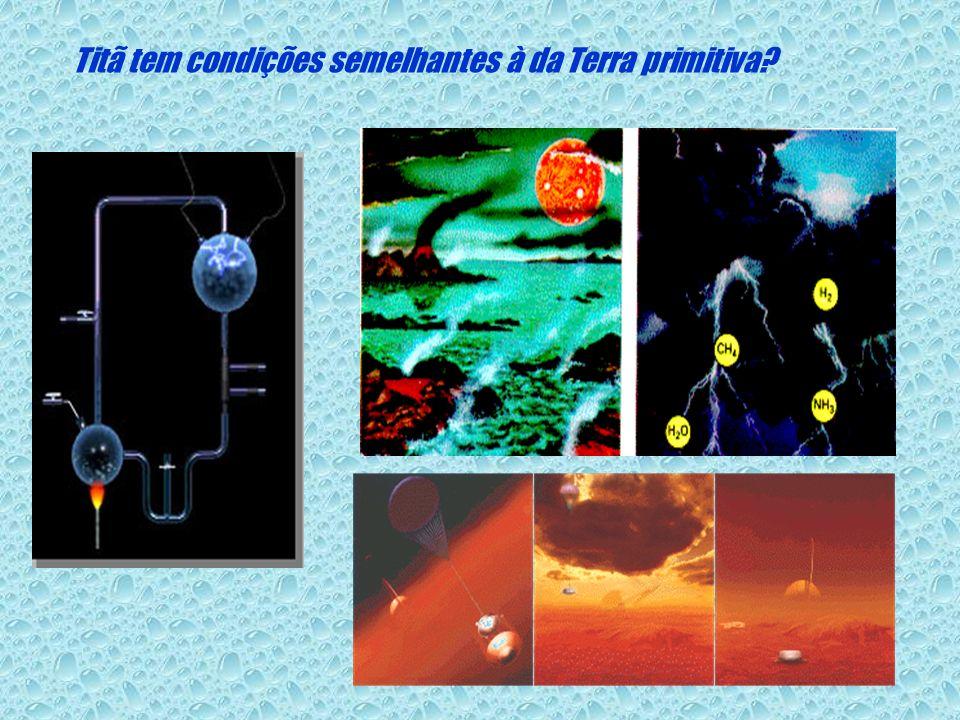 Titã tem condições semelhantes à da Terra primitiva?