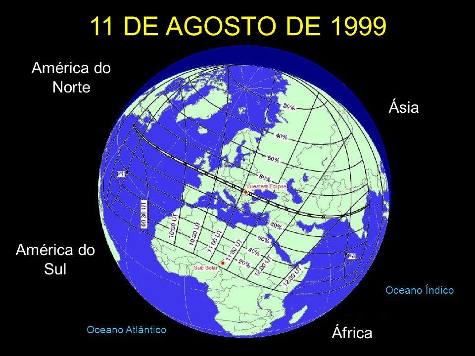 América do Sul América do Norte Ásia África Oceano Atlântico Oceano Índico