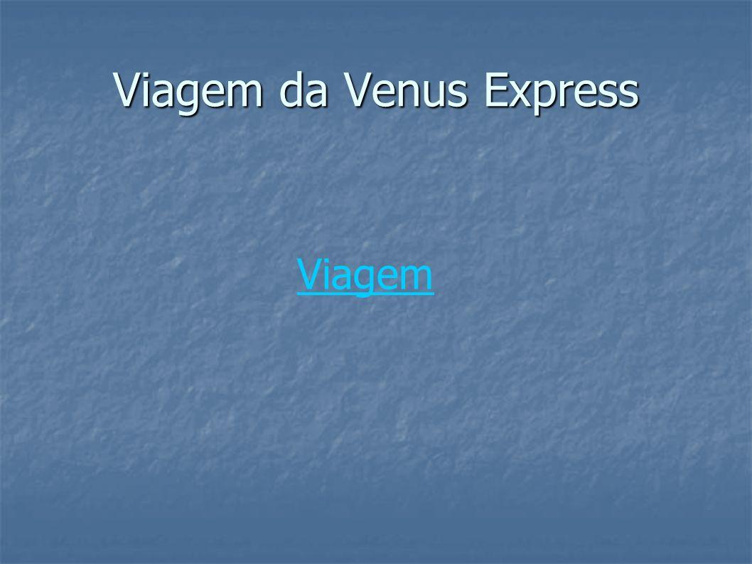 Viagem da Venus Express Viagem