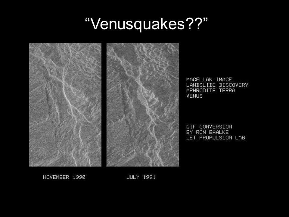 Venusquakes??