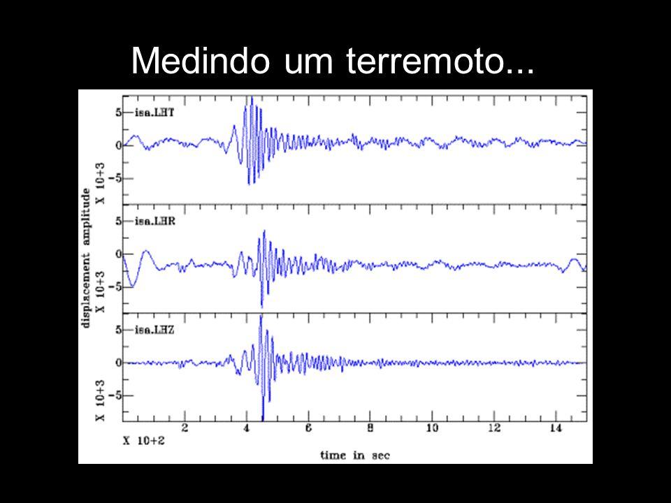 Ocorrência de terremotos