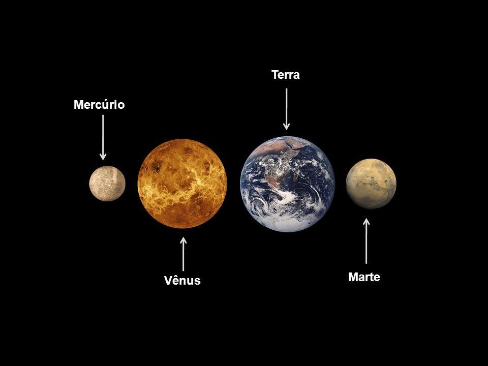 Mercúrio Vênus Terra Marte