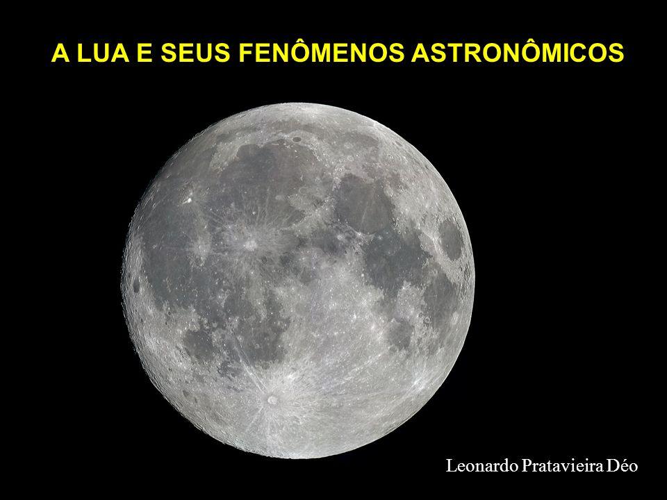 A LUA E SEUS FENÔMENOS ASTRONÔMICOS Leonardo Pratavieira Déo