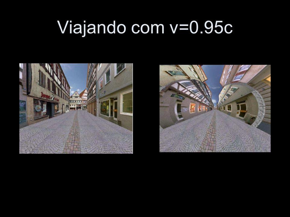Viajando com v=0.95c