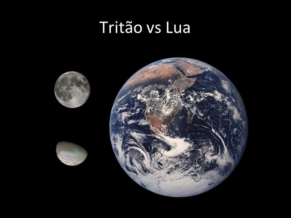 Tritão vs Lua