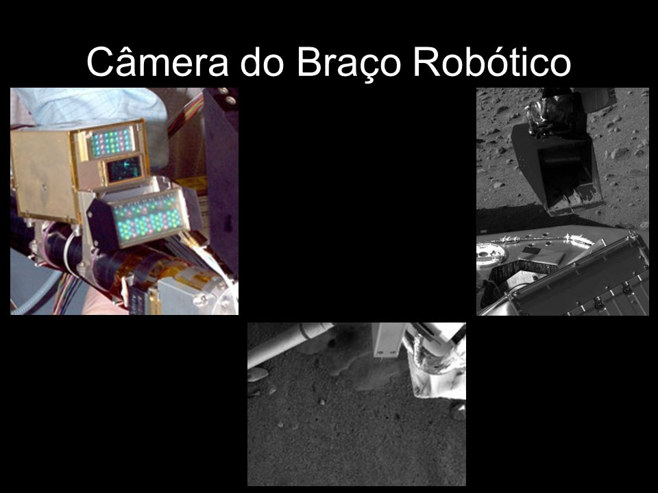 Câmera do Braço Robótico