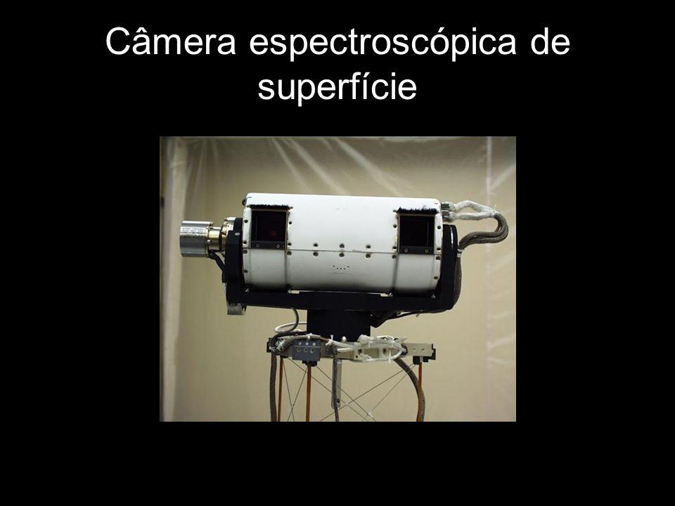 Câmera espectroscópica de superfície