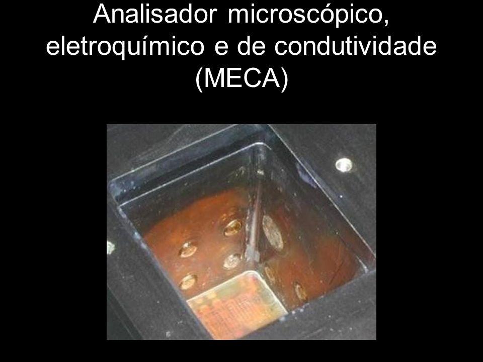 Analisador microscópico, eletroquímico e de condutividade (MECA)