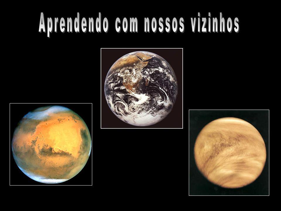 Estudando outros planetas podemos compreender melhor nosso próprio e pintar um novo e grande cenário para nosso planeta