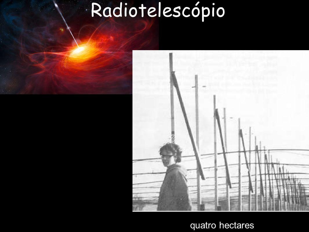 Radiotelescópio quatro hectares