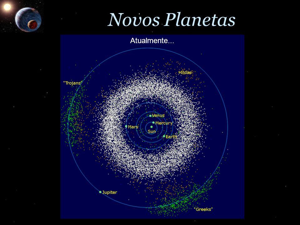 Novos Planetas Atualmente...