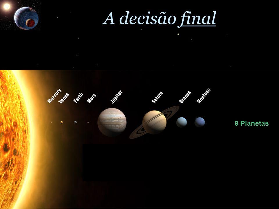 8 Planetas 3 Planetas- Anões