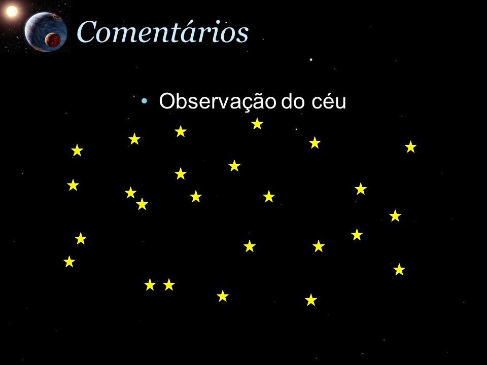Observação do céuObservação do céuComentários