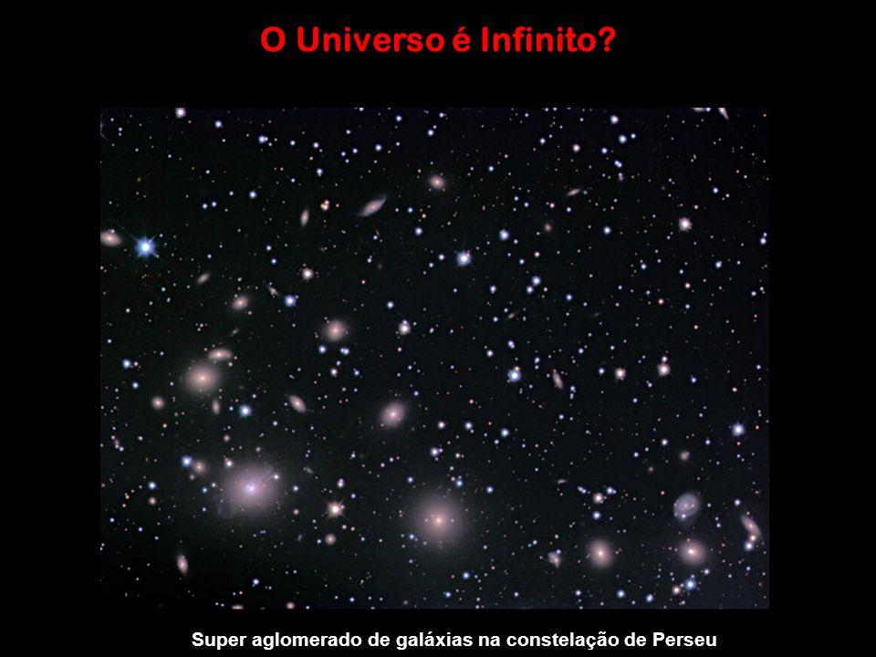 O Universo é Infinito? ? Super aglomerado de galáxias na constelação de Perseu
