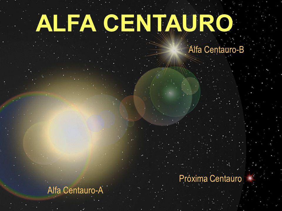 Alfa Centauro-A Alfa Centauro-B Próxima Centauro