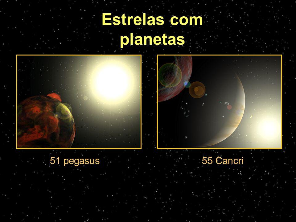 Estrelas com planetas 51 pegasus55 Cancri