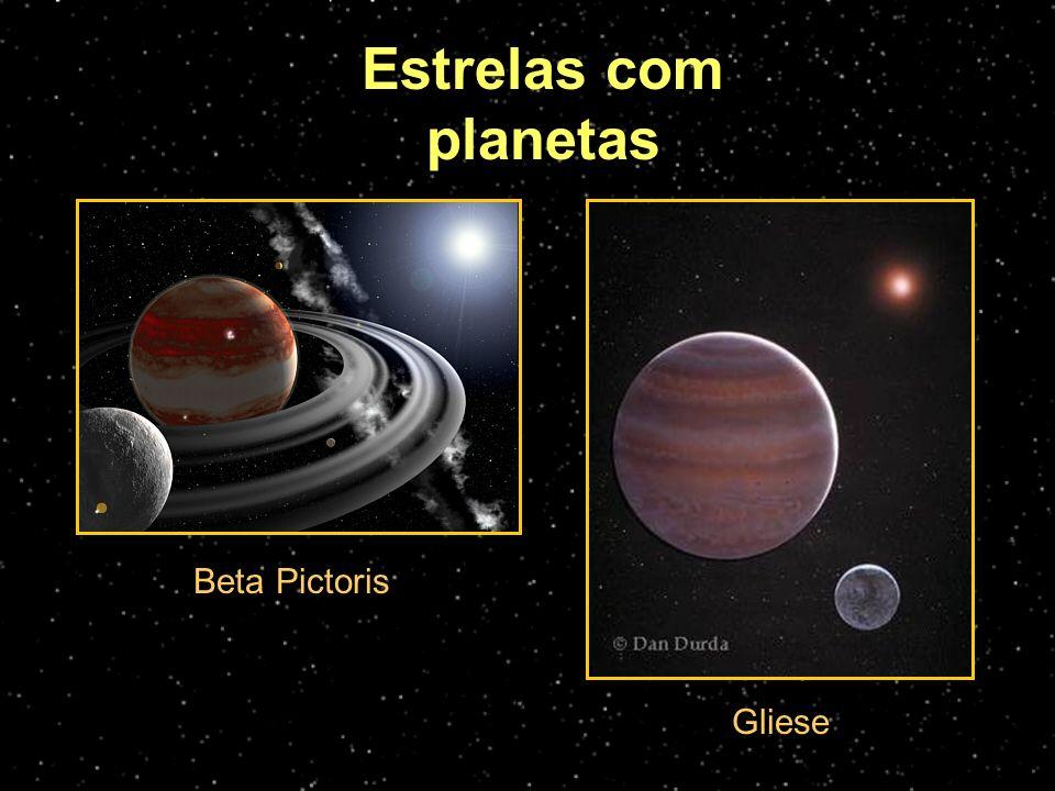 Estrelas com planetas Beta Pictoris Gliese