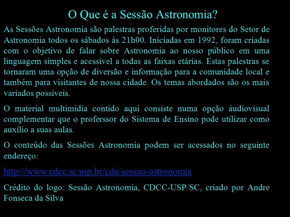 Referências Curso sobre Astrobiologia ministrado por Alexandre Bagdonas Henrique e Mariana Padoan de Sá Godinho no CDA em fevereiro de 2007.