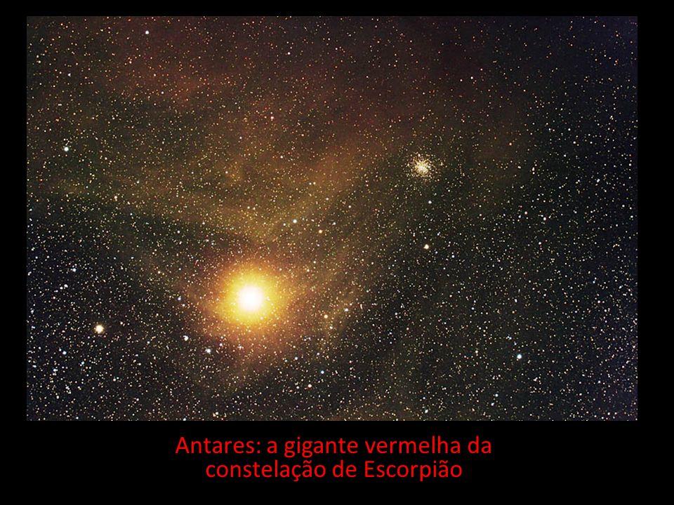 Antares: a gigante vermelha da constelação de Escorpião