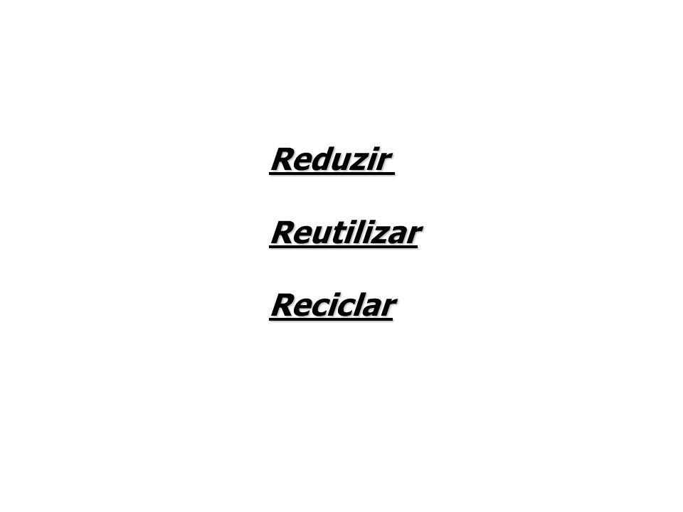 ReduzirReutilizarReciclar