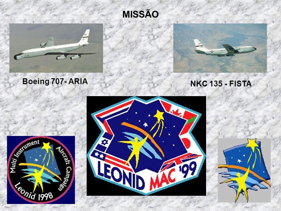 MISSÃO Boeing 707- ARIA NKC 135 - FISTA