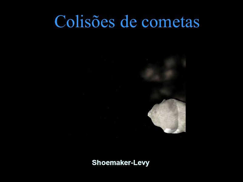 Colisões de cometas Shoemaker-Levy