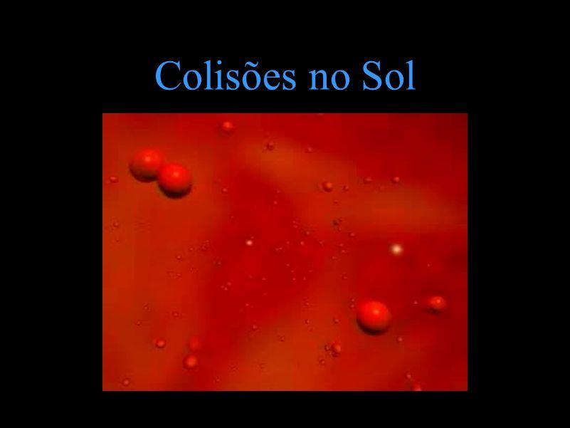 Colisões no Sol