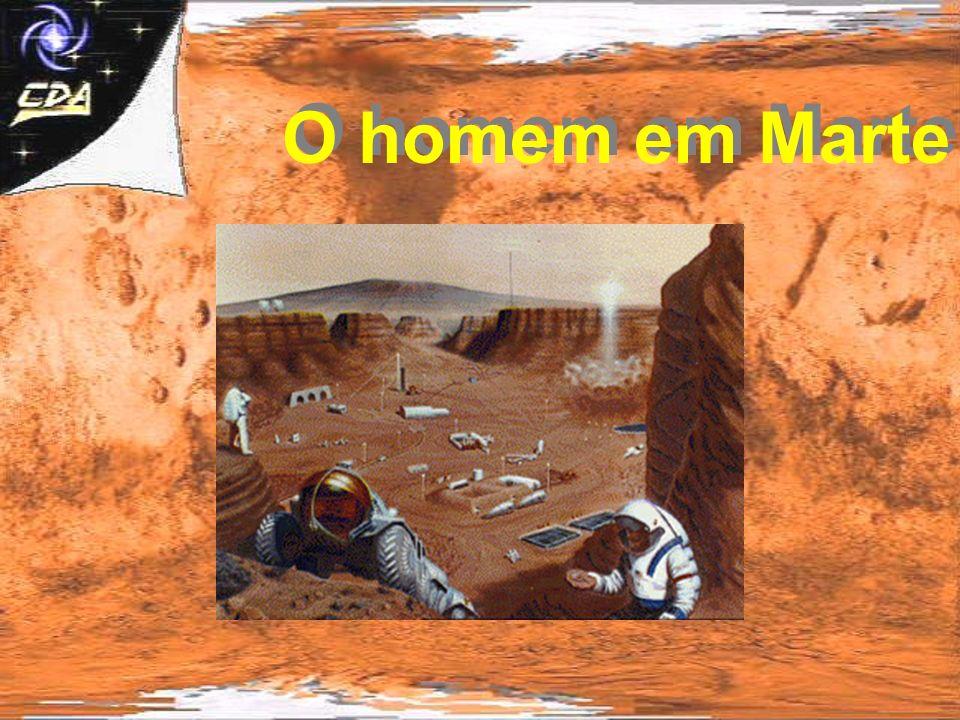 O homem em Marte