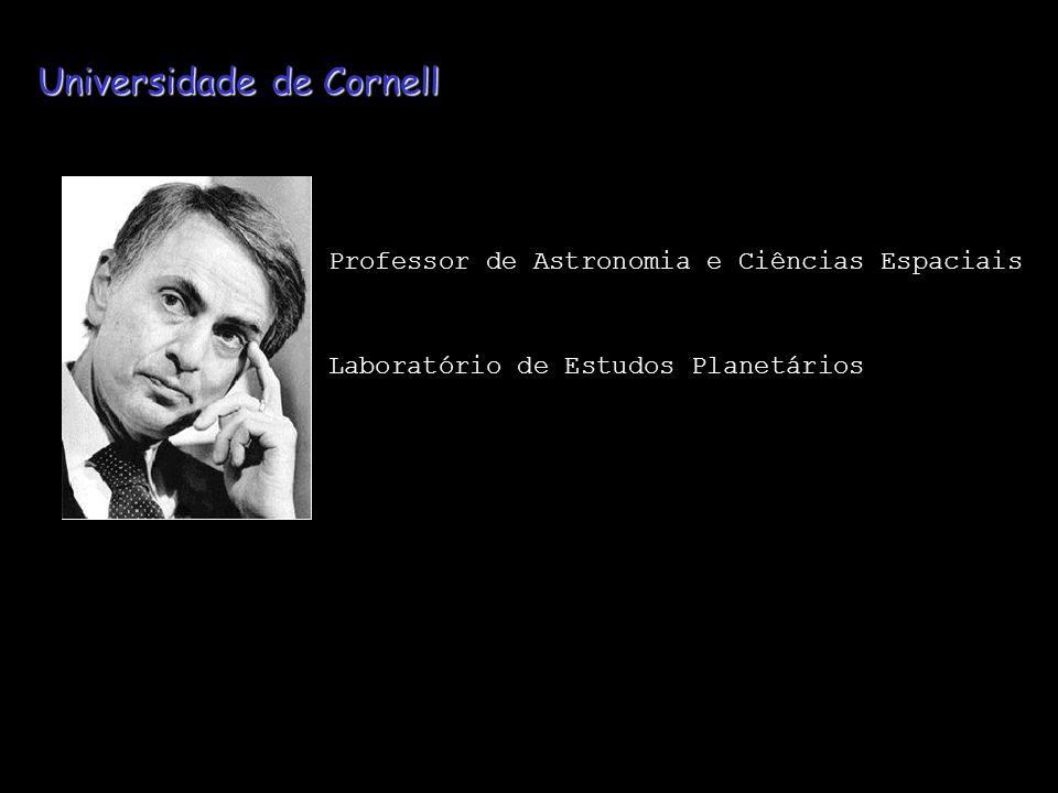 Universidade de Cornell Professor de Astronomia e Ciências Espaciais Laboratório de Estudos Planetários