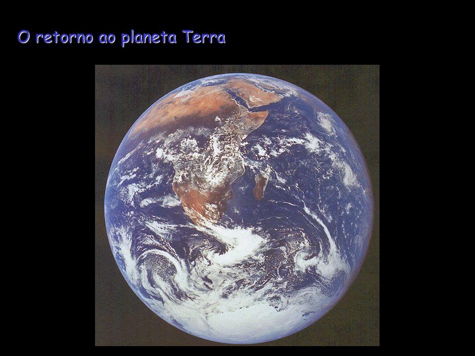 O retorno ao planeta Terra
