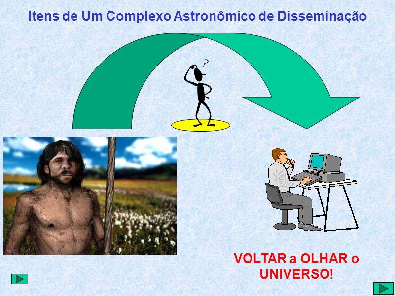 Itens de Um Complexo Astronômico de Disseminação VOLTAR a OLHAR o UNIVERSO!