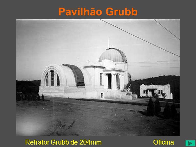 Pavilhão Grubb Refrator Grubb de 204mmOficina