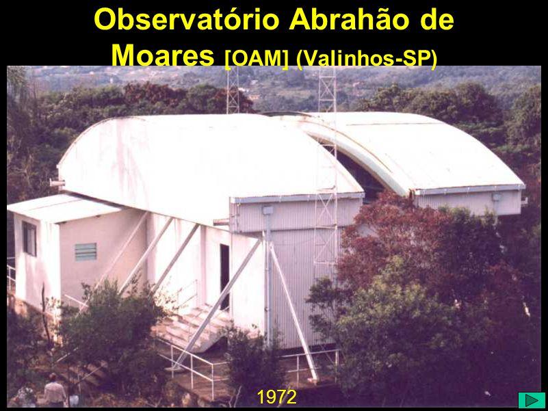 1972 Observatório Abrahão de Moares [OAM] (Valinhos-SP)
