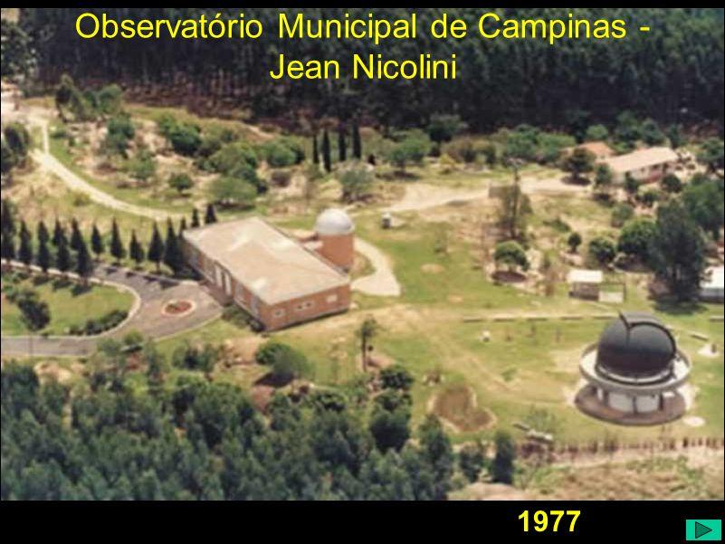 Observatório Municipal de Campinas - Jean Nicolini 1977