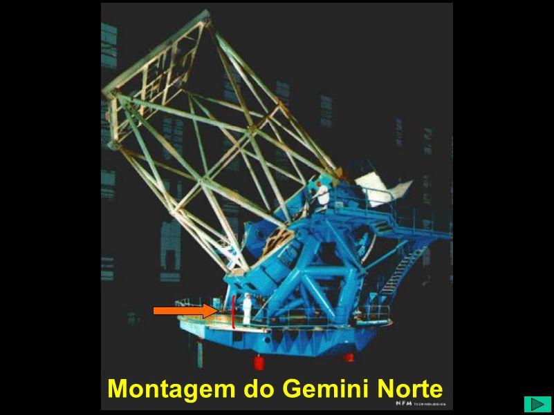 Montagem do Gemini Norte