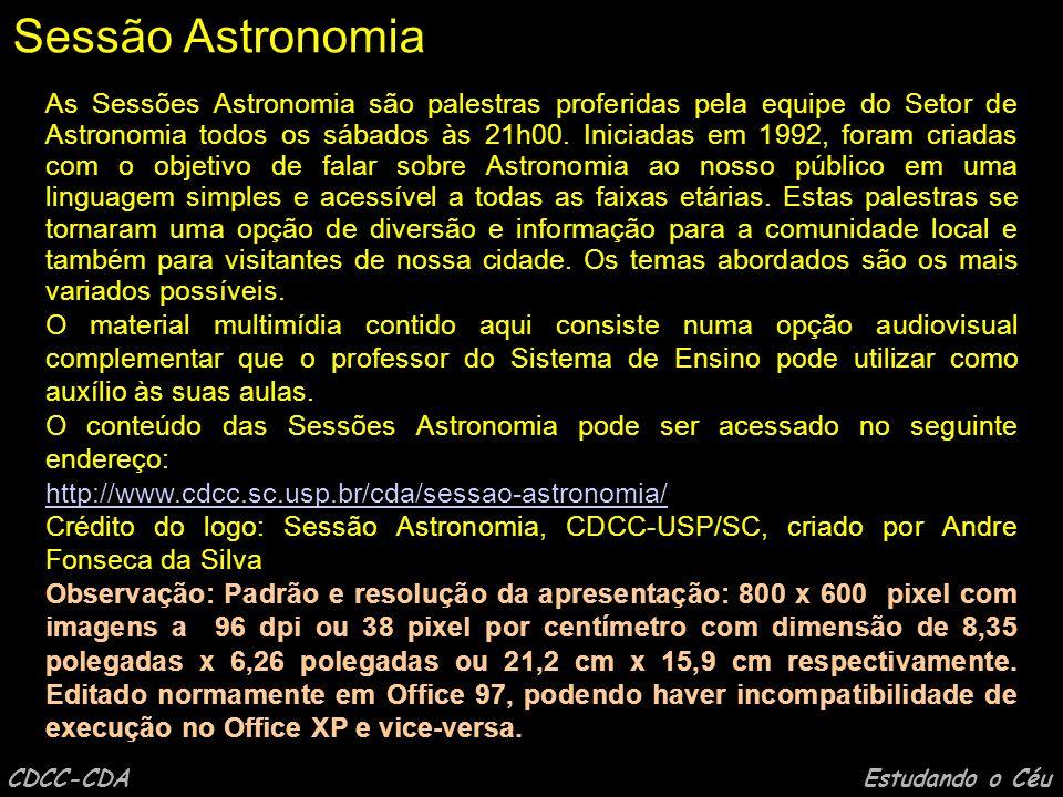 CDCC-CDA Estudando o Céu capa Por Victor Raphael de Castro Mourão Roque (Robin)