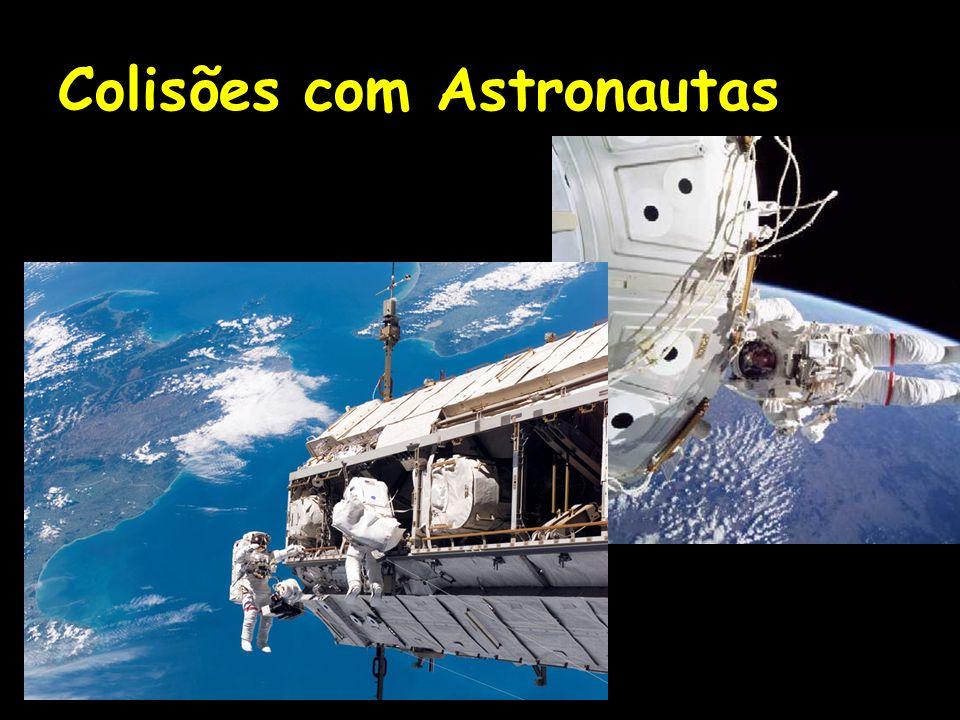 Colisões com Astronautas